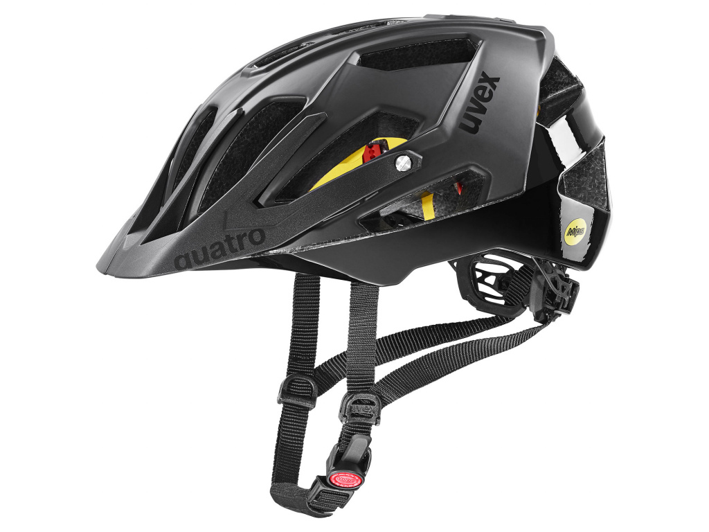 Helma Uvex Quatro CC MIPS, All Black