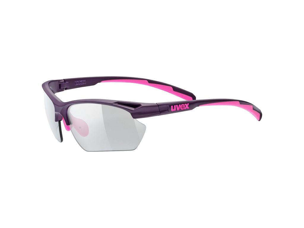 Brýle Uvex Sportstyle 802 Vario S, Purple / Pink Matt