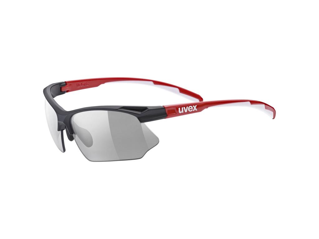 Brýle Uvex Sportstyle 802 Vario, Black / Red / White