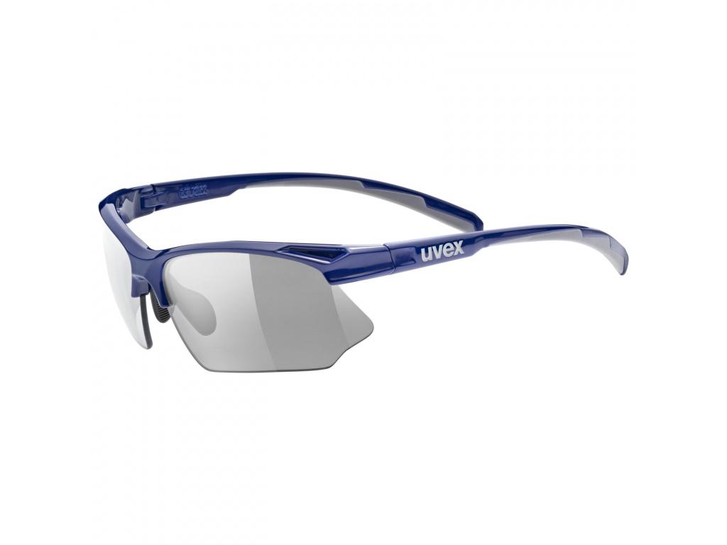 Brýle Uvex Sportstyle 802 Vario, Blue / Grey Smoke