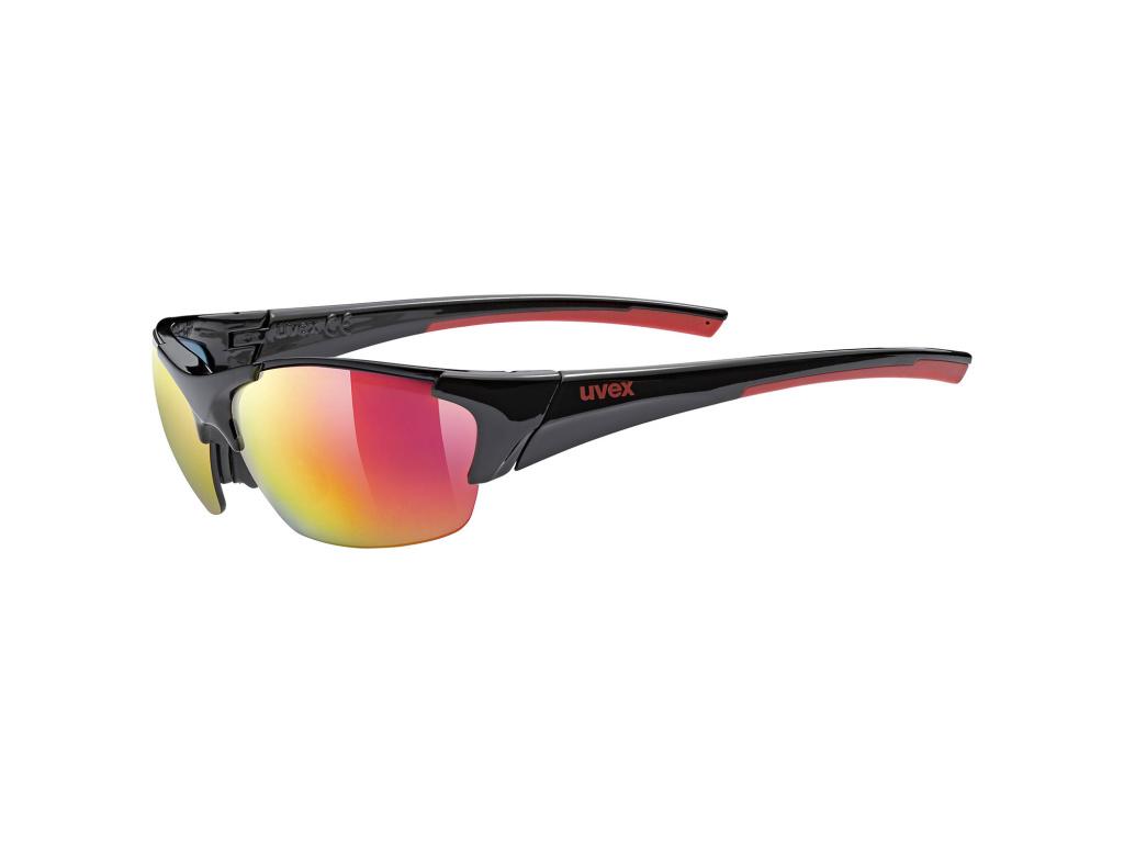 Brýle Uvex Blaze III, Black / Red