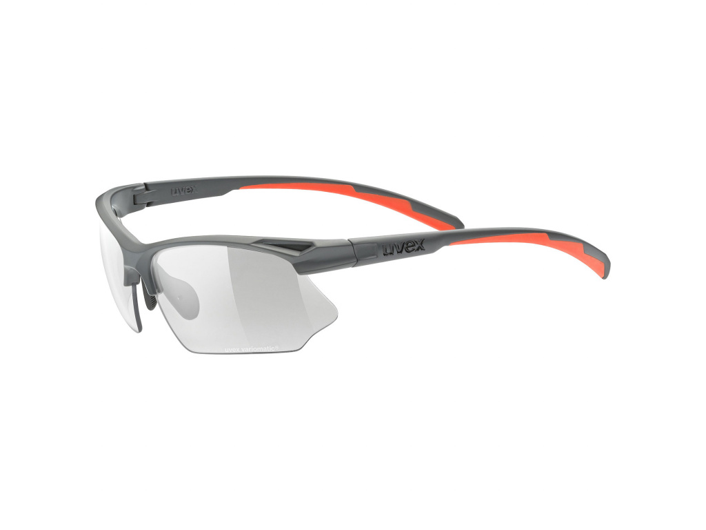 Brýle Uvex Sportstyle 802 Vario, Grey Matt