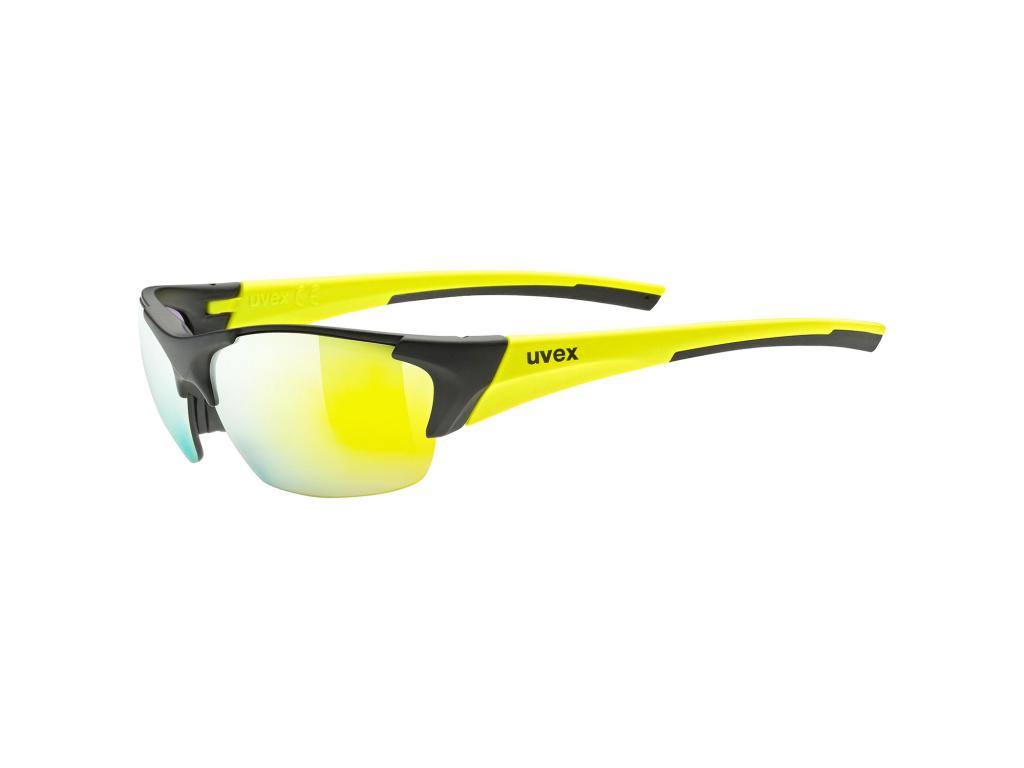 Brýle Uvex Blaze III, Black Matt / Yellow