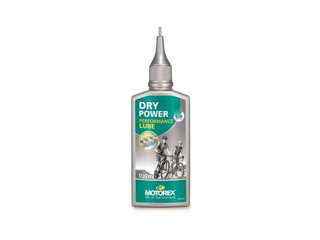 Olej na řetěz Motorex Dry Power, kapátko 100ml