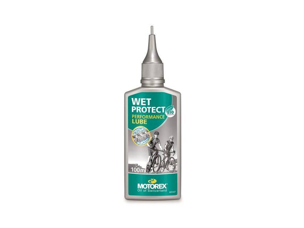 Olej na řetěz Motorex Wet Protect, kapátko 100ml