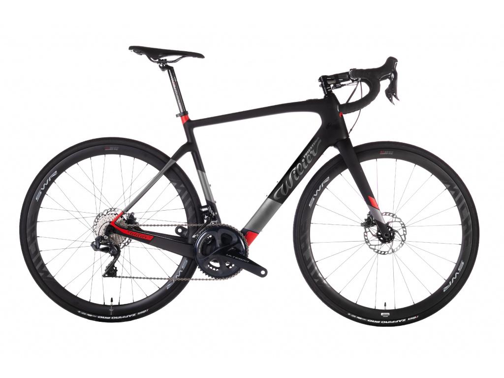 Wilier Cento1 Hybrid 2020 - Ultegra Di2 + Revox, Black/Red