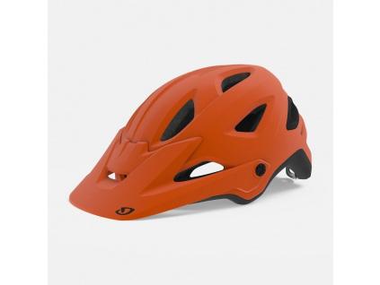 giro montaro mips dirt helmet matte deep orange hero