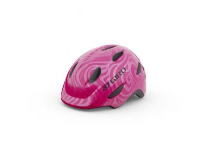 Helma Giro Scamp, Bright Pink/Pearl