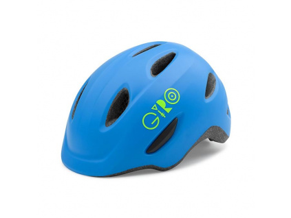 Helma Giro Scamp, Mat Blue/Lime
