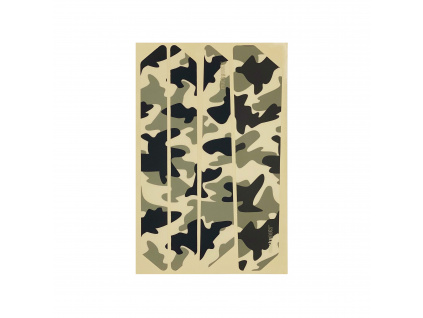 Ochranné samolepy na rám Mucky Nutz Stay Skinz, Camouflage