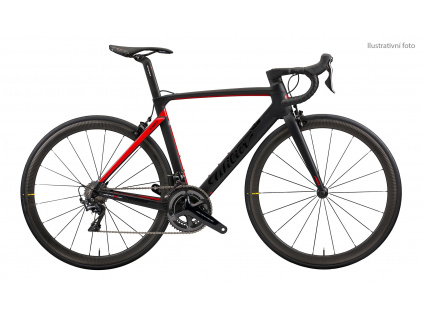 Wilier Cento10 PRO Disc 2019 - Ultegra Di2 + Cosmic Pro, Black / Red