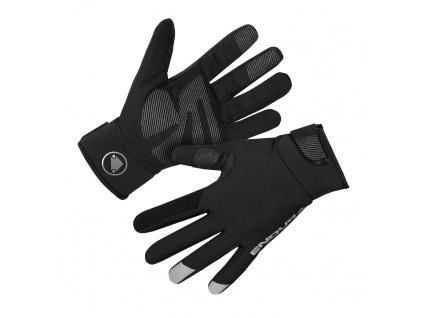 Endura Dámské rukavice Strike, Černá