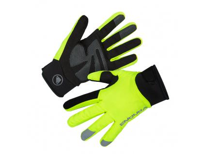 Endura Dámské rukavice Strike, Svítivě žlutá