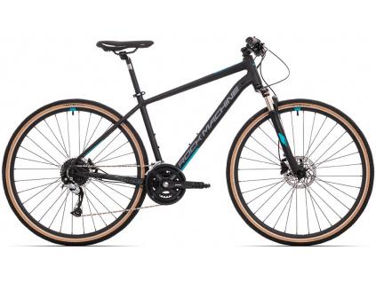 Rock Machine CrossRide 700, Mat black/Dark grey/Petrol blue