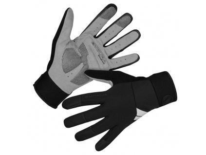 Dámské rukavice Endura Windchill, Černá