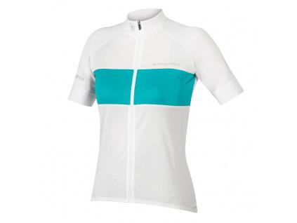 Dámský dres Endura FS260-Pro II s krátkým rukávem, Bílá