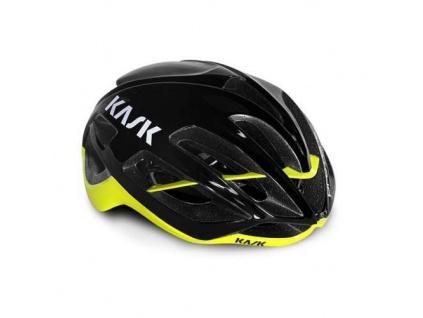 Helma KASK Protone, Black/Yellow fluo