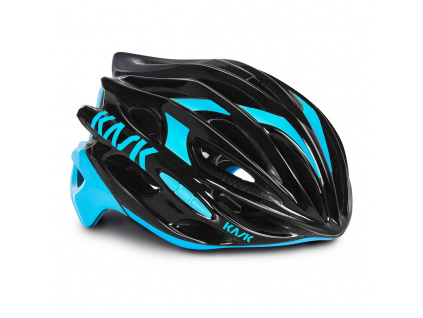 Helma Kask Mojito, Black/Light blue