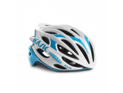 Helma Kask Mojito, White/Light blue