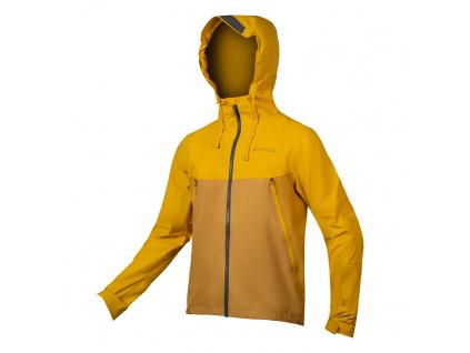 Nepromokavá bunda Endura MT500, Hořčicová