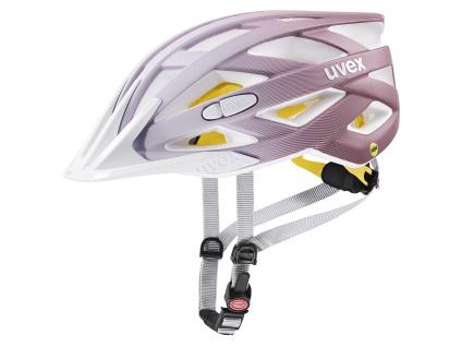 Helma Uvex I-VO CC MIPS, White / Rosé Matt