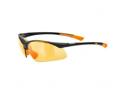 Brýle Uvex Sportstyle 223, Black / Orange