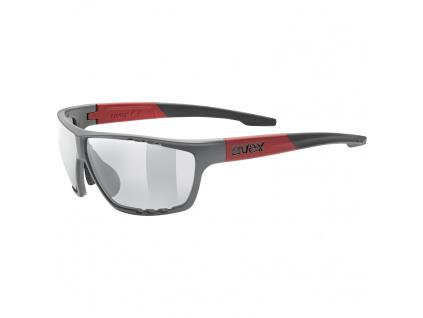 Brýle Uvex Sportstyle 706, Grey Matt / Red
