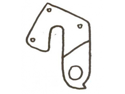 Patka rámu RM č.8 Cycl.ADR6