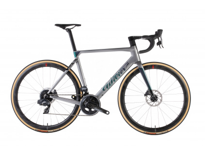 Wilier Filante Disc 2021 - Force AXS + SLR42, Grey/Iride