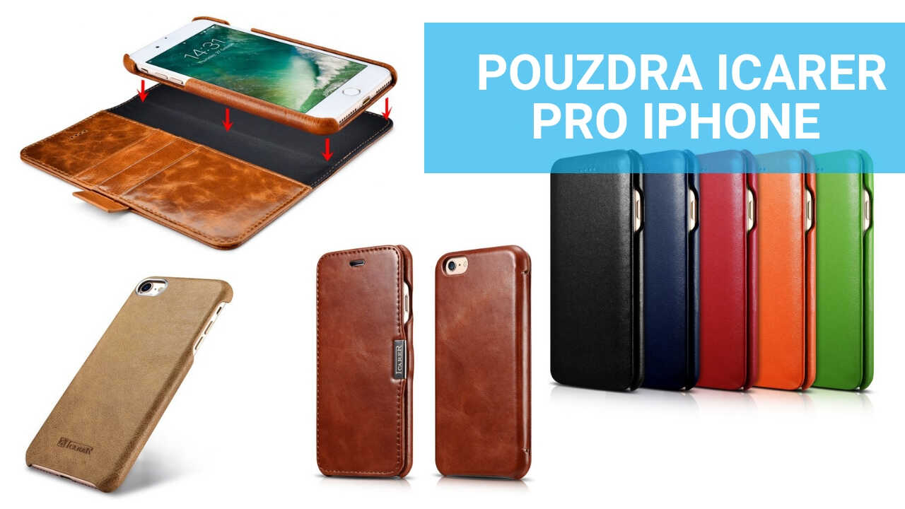 iCarer obaly pro iPhone