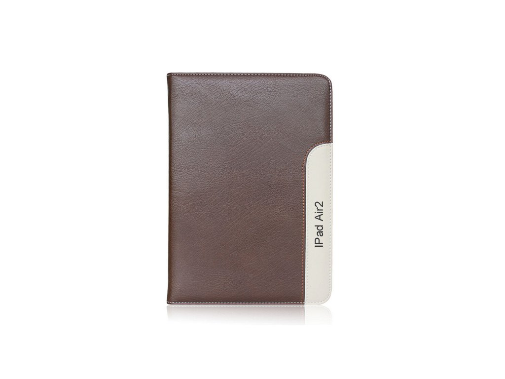 247 kozene pouzdro caseme font brown ipad air 2