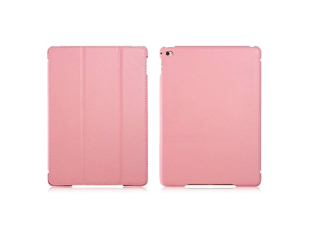 iCarer Litchi Pattern světle růžový iPad Air 2