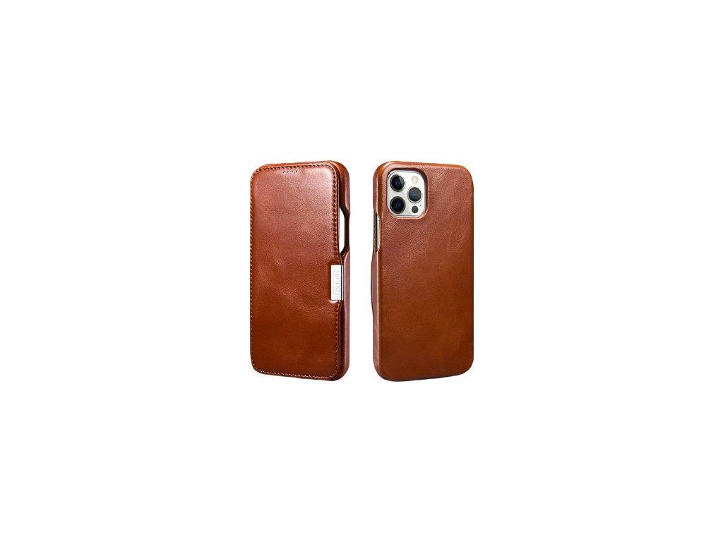 Kožený obal iPhone 12