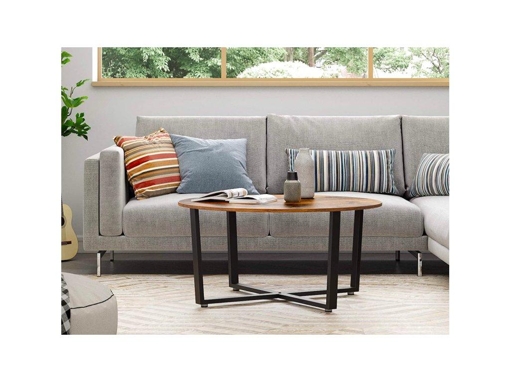 kulatý stůl do obýváku