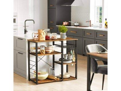 kuchyňský stojan vasagle