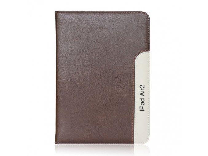 Kožené pouzdro CaseMe Font Brown iPad Air 2