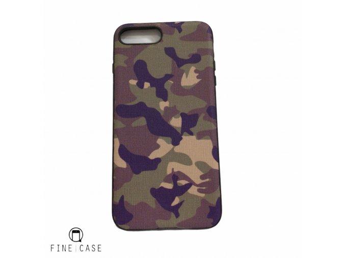 XOOMZ Camouflage pro iPhone 7 Plus/8 Plus zelený