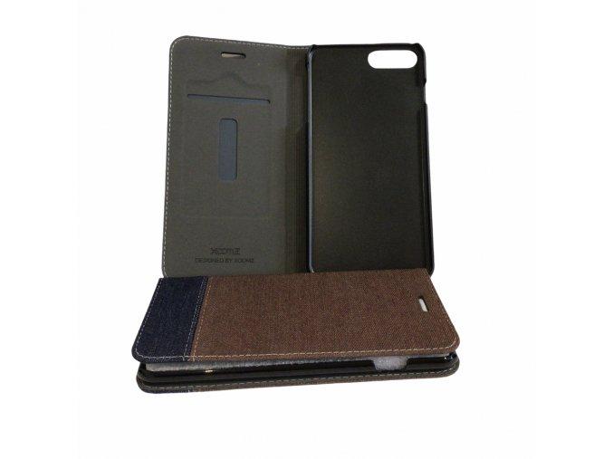 XOOMZ Ultra Thin Cowboy obal pro iPhone 7 Plus/8 Plus hnědá