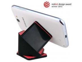 1834(8) univerzalni drzak do auta magic cube cerne barvy pro navigaci smartphone a tablet