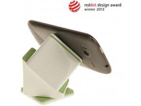Univerzální držák do auta Magic Cube bílé barvy pro navigaci, smartphone a tablet