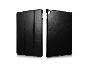 "Kožené pouzdro iCarer Vintage černý iPad Pro 9,7"""