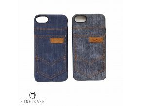 XOOMZ Jeans Pocket obal pro iPhone 7 modrý