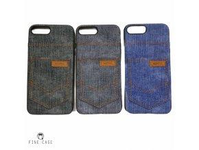 XOOMZ Jeans Pocket obal pro iPhone 7 Plus modrý