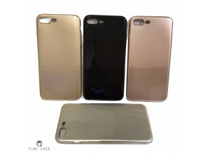 XOOMZ Simple Style obal pro iPhone 7 Plus/8 Plus lesklý černý