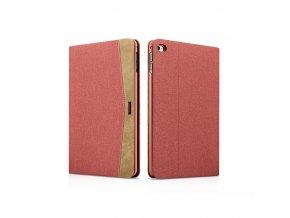 XOOMZ Simple fabric obal pro iPad Mini 4 červený