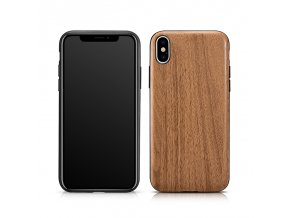 XOOMZ Customized Wood pro iPhone X/XS hnědý