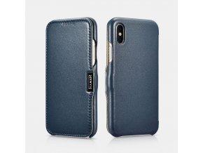 iCarer Luxury modrý iPhone XR