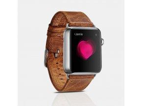 iCarer Classic For Apple Watch světle hnědé 42 mm/44 mm