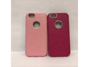 XOOMZ Litchi obal pro iPhone 6/6S růžový