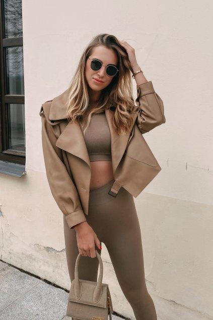 Kožená bunda Sofi značky Fine Furs
